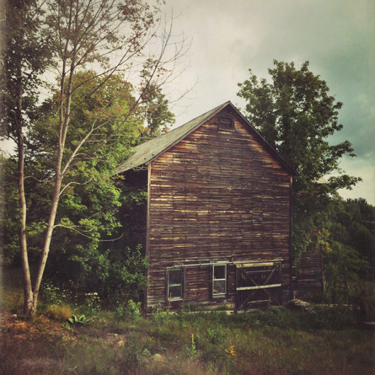 Old Barn Photo Tile