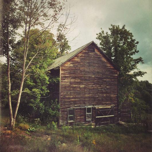 Old Barn Photo Tile